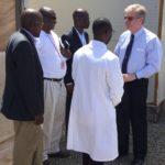 Visite de l'Ambassadeur des USA à l'INSP